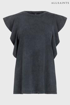 AllSaints Ruffle Lara T-Shirt