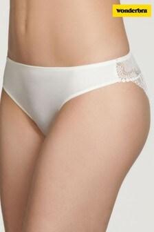 Wonderbra® Ivory Refined Glamour Brazilian Brief