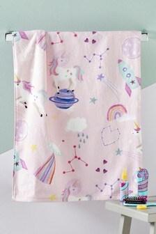 Space Unicorn Towel