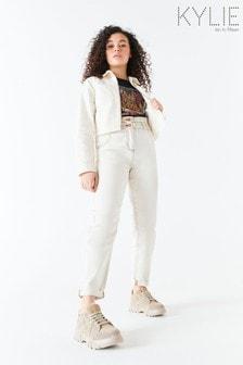 Kylie Natural 紙袋型牛仔褲