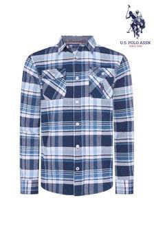 U.S. Polo Assn. Madras Long Sleeve Shirt