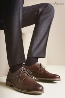 Кожаные туфли дерби