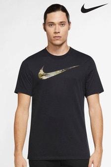 Nike Dri-FIT Camo Swoosh Training T-Shirt