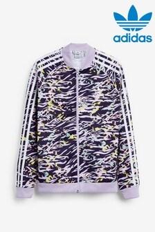 """Спортивный топ с принтом """"зебра""""adidas Originals"""