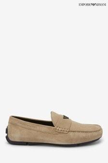 Emporio Armani Stone Loafers