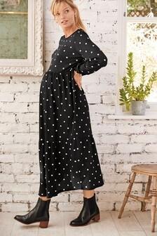 Ярусное платье для беременных