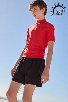Haut anti-UV à manches courtes (1,5-16 ans)
