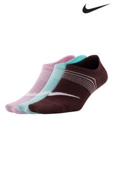 Nike Everyday Plus Footie Socks 3 Pack