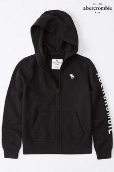 Abercrombie & Fitch zwart Core sweatshirt