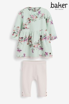 Baker by Ted Baker Baby Girls 2 Piece Dress Set