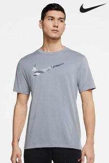 Nike Dri-FIT Camo Swoosh T-Shirt