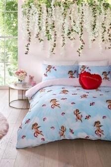 Skinnydip Cherub Duvet Cover and Pillowcase Set