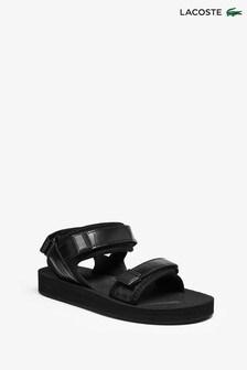 Lacoste® Black Suruga Sandals (464417) | $90