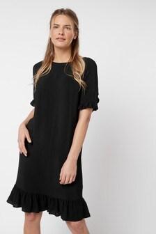 Многоярусное платье с оборками