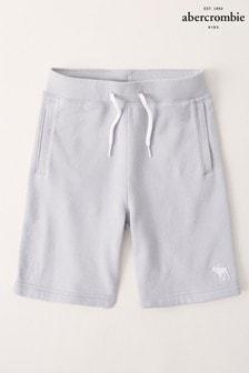 Abercrombie & Fitch Fleece-Shorts mit Taillenschnürung