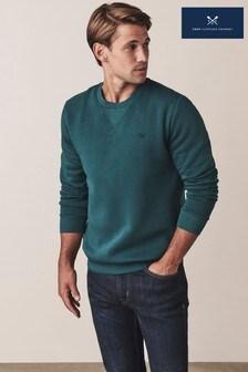 Crew Clothing Green Baddesley Crew Sweatshirt