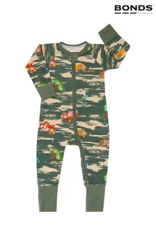 Bonds Green Zip Wondersuit
