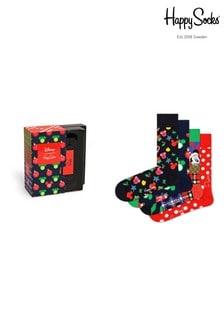 Happy Socks Mens Disney™ Holiday 4 Pack Gift Box