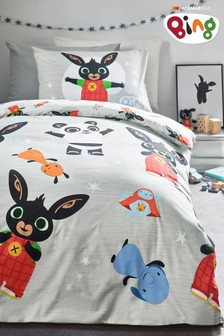 Bing Bunny Reversible Duvet Cover and Pillowcase Set