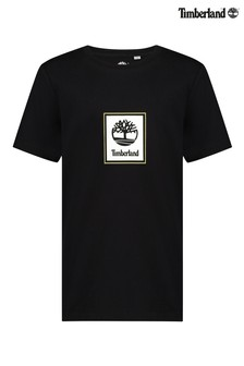 Черная футболка с логотипом Timberland®