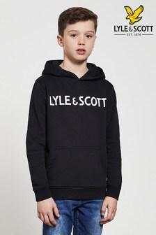 Lyle & Scott文字連帽上衣