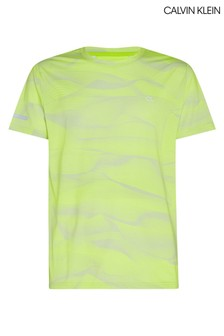 Calvin Klein Yellow Digital Motion T-Shirt