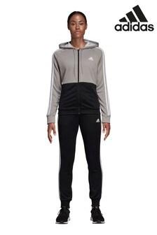 Черный спортивный костюм adidas Team Sport