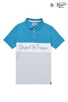 Koszulka polo w bloki kolorów Original Penguin®