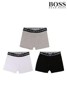 BOSS Black Logo Boxers Three Pack