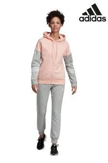 Розовый спортивный костюм adidas Team Sport