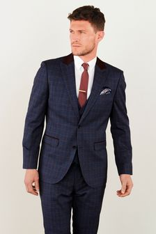 Tailored Fit Check Suit