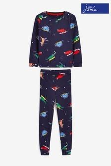 Joules Kipwell Pyjama-Set, Blau