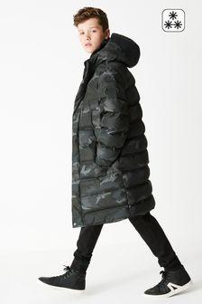 Удлиненная утепленная куртка (3-17 лет)
