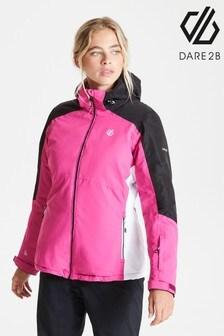 Dare 2b Pink Radiate Waterproof Ski Jacket