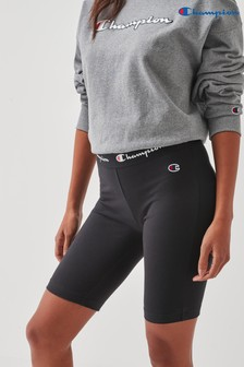 Champion Black Bike Shorts