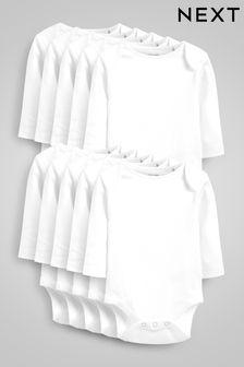10 Pack Essential Long Sleeve Bodysuits (0mths-3yrs) (470415)   $28 - $31