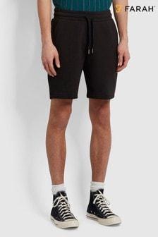 Farah Black Durrington Jersey Shorts
