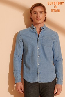 Superdry Classic Denim Button Down Shirt