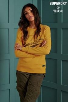 Superdry Reworked Klassisches Sweatshirt mit Stickerei