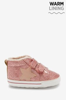 Warm Lined Pram Booties (0-18mths)