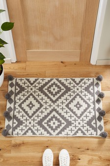 Grayson Geo Pom Doormat