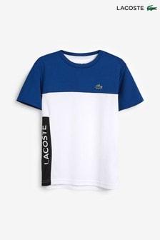 Lacoste® Sport T-Shirt mit Farbblocklogo