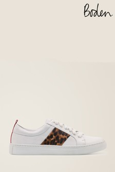 Boden Brown Classic Trainers