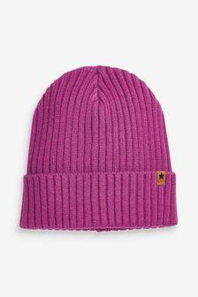 Rib Beanie Hat (Older)