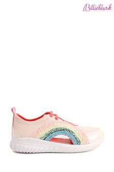 Billieblush Pink With Glitter Rainbow Trainers