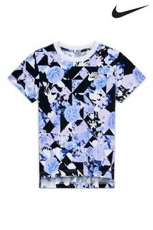 חולצת טי של Nike בהדפס פרחוני