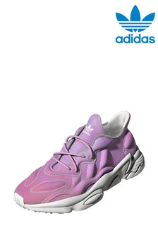 adidas Purple Originals Ozweego Tech Youth Trainers