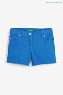 Benetton Blue Denim Shorts