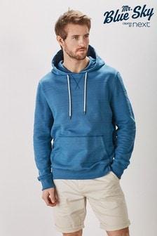 Mr Blue Sky有機棉棉質連帽衫