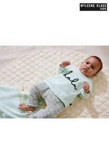סט סווטשירט ומכנסי טרנינג לתינוקות של Myleene Klass